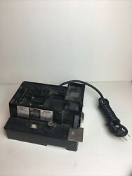 Vintage 1900 Portable Hobby Center Double Insulated Bench Grinder