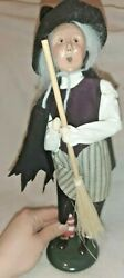 Byers' Choice Ltd The Carolers 2001 Witch With Broom