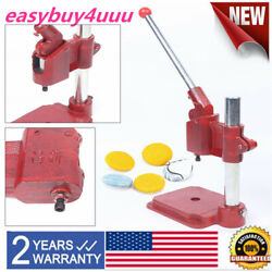 Hand Pressing Machine For Fabric Cover Button Diy Button Cloth Buckle Machine