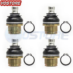 4x Upper And Lower Atv Ball Joints Fits Arctic Cat 250 300 375 400 500 550 650 700