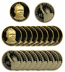 2011 -s Ulysses Grant Presidential Proof Dollar Roll 20 Us Coins