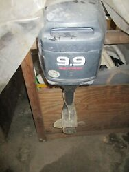 Yamaha 9.9 Elrc Outboard Engines 2 - Need Work To Run