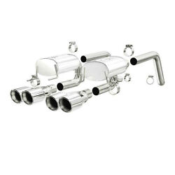 2.5 Axle Back Exhaust System Dual Magnaflow For Chevy Corvette Performance Tip