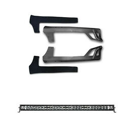 Rigid For 2007-2015 Jeep Jk Radiance 50white Back-light And Brow Mount