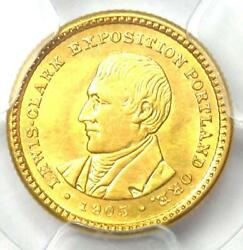 1905 Lewis And Clark Gold Dollar G1 - Certified Pcgs Uncirculated Detail Unc Ms
