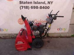 Honda Hs928 Snow Blower 9hp 28 Inches Wide Starts And Runs Fine 3
