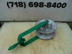 Greenlee 12 Inch Sheave Cable Puller Tugger 8000lbs Nice Shape 1