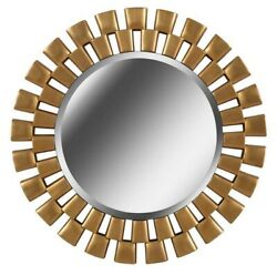 Kenroy Lighting 60019gld Gilbert - 36 Inch Wall Mirror Golden Finish With