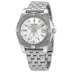 Breitling Galactic 36 Automatic Silver Dial Ladies Watch A37330121g1a1