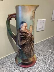 Limoge France Tankard Mint Condition Circa 1920 By William Guerin Priced Lowandnbsp