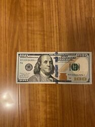 100 Dollar Bill Star Note Series 2017a Rare Great Condition