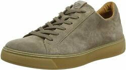 Ecco Menand039s Street Tray Classic Sneaker