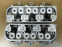 Gm 25500031 Nos Buick 90 V6 Aluminum Heads Semi-finished Pair