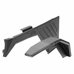 Fab Fours Front And Rear Fender Flare System Fits 07-18 Jeep Wrangler Jk 4 Doors