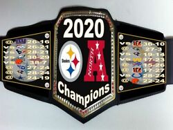 Pittsburgh Steelers 2020 Afc North Division Champions Championship Belt