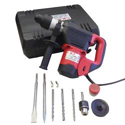 1000 Watts 1-1/2and039and039 Electric Rotary Hammer Drill Sds Demolition Dual Model Power