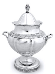 American Coin Silver Sugar Bowl Robert Keyworth Washington Dc Silversmith C1820s