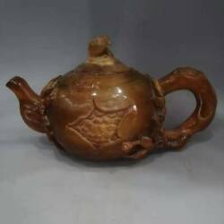 Chinese Ox Horns Handmade Exquisite Teapots 2241
