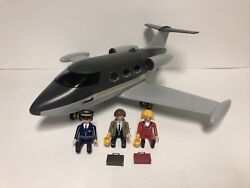 Playmobil 5619 City Life Private Jet Plane Play Set Nice Preowned Condition