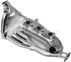 For Porsche 911 Left Polished Stainless Steel Heat Exchange 1965-74 New