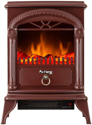 E-flame Usa Hamilton Portable Free Standing Electric Fireplace Stove - Infrared