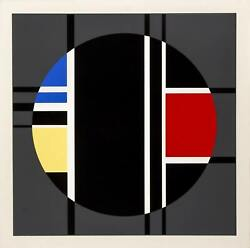 Jean Gorin Composition Screenprint Signed And Numbered In Pencil