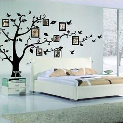 Wall Tree Family Sticker Decal Large Photo Removable Deco Giant Frames Vinyl