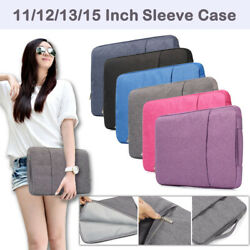 Pouch Sleeve Case Laptop Bag For MacBook AirPro Retina Lenovo Dell Asus HP 11 15 $13.54