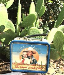 1994 Happy Trails Roy Rogers And Dale Evans Fossil Watch + Bolo + Small Lunch Box