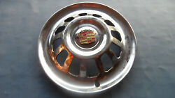 1930and039s 1940and039s 1950and039s Vintage Rare Cadillac Hubcap - Great