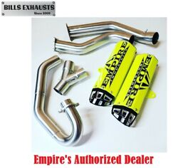 Empire Industries 15-21 Raptor 700 Dual Exhaust Full System Fast Huge Hp