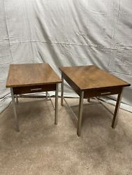 Mid Century Paul Mccobb For Calvin Furniture End Table Night Stands