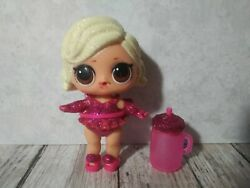 L2 Lol L.o.l. Surprise Doll, Glamour Queen, Blonde Hair, Brown Eyes, Cup/bottle