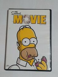 The Simpsons Movie Dvd, 2009, Widescreen Movie Cash