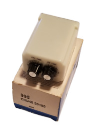 Potter And Brumfield Crd48-30180 Twin Timer Time Delay Relay Repeat Cycle 1.8-180