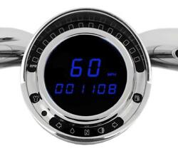 Bd-140 Direct Plug-in Speedometer For Big Dog Models With Factory Tach Ring
