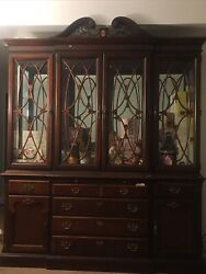 Stoneleigh Mahogany Dining Cabinet Hutch For China Chest Dresser