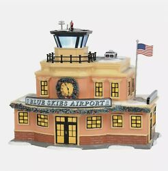 Department 56 - Snow Village - Blue Skies Airport 6003139 Brand New In Box