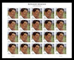 Nine Sheets Of 2010 Mnh Forever Stamps With Ronald Reagan S703 20-stamp-sheets