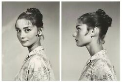 Audrey Hepburn Personally Owned Two Pics From Estate
