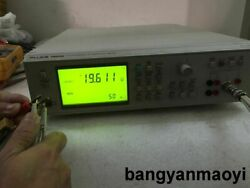 Used Good Fluke Pm6306 50hz-1mhz Rcl Meter With Test Lead Ship By Express