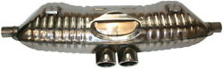 For Porsche Boxster Stainless Steel Sport Dual Exhaust Super Sound 1996-2004 New