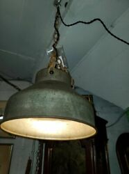 Antique Flour Sifter Hanging Lamp – Awesome Country Repurposed Item