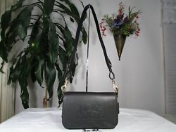 NWT Coach pebble Leather Jes Messenger Crossbody Bag F72703 Black $149.00