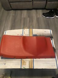 74 75 Cadillac Coupe Deville Driver Under Dash Lower Knee Bolster Panel Red Used
