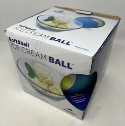 Yaylabs Soft Shell Ice Cream Rubber Ball Pint Blue Homemade Camping