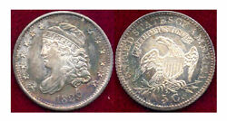 1829 5c-nice Toning- Capped Bust Half Dime++