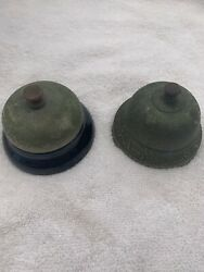 Antique Hotel Front Desk Shop Counter Butler's Bells Late 1800s - Early 1900s