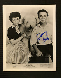 Tommy Kirk Disney's The Shaggy Dog Signed In Person 8x10 Photo
