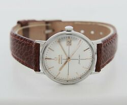 Vintage Omega Seamaster Automatic Cal. 562 Stainless Steel Men's Watch Ref14730